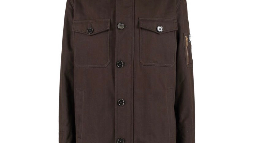 DOLCE & GABBANA Brown Parka coat