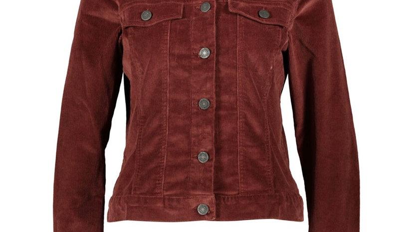 NOISY MAY Rust Corduroy Jacket