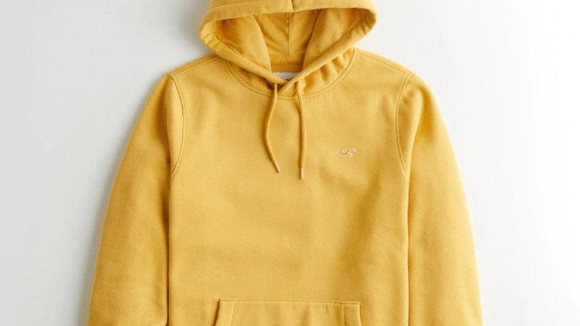 Hollister Hoodie Yellow