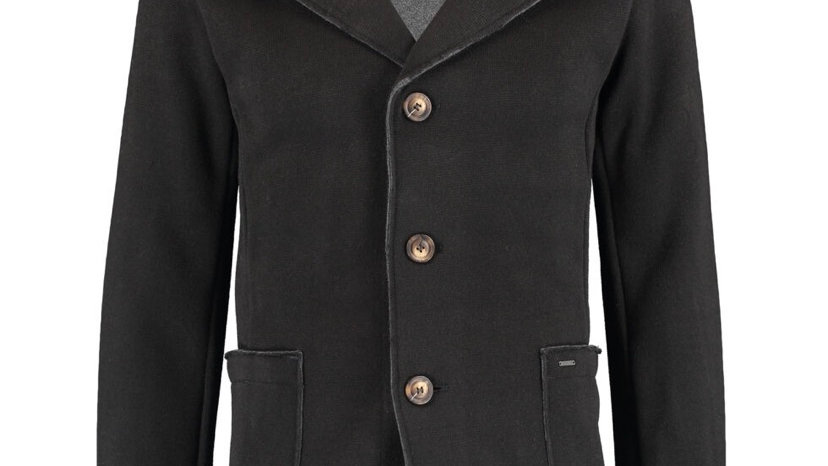 INDICODE Black Bristow Blazer Cardigan