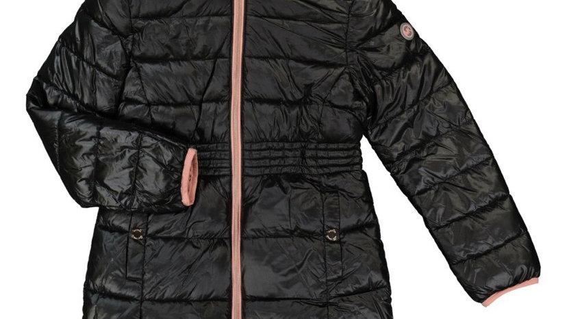 MICHAEL KORS Black Hooded Puffer Coat