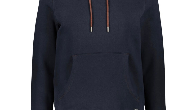 GUIDE LONDON Navy Pouch Hoodie