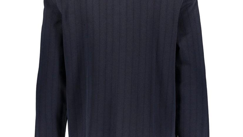 ORIGINAL PENGUIN Navy Long Sleeve Polo Shirt