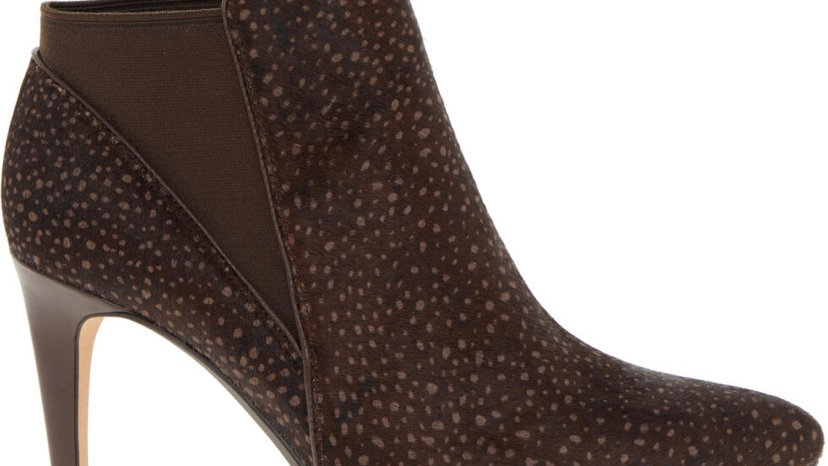 Clark's (Dark Brown Dotted Latina Violet Heeled Ankle Boots) UK 5.5 Women