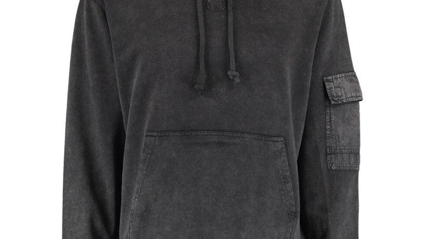 CRIMINAL DAMAGE Charcoal Grey Hoodie