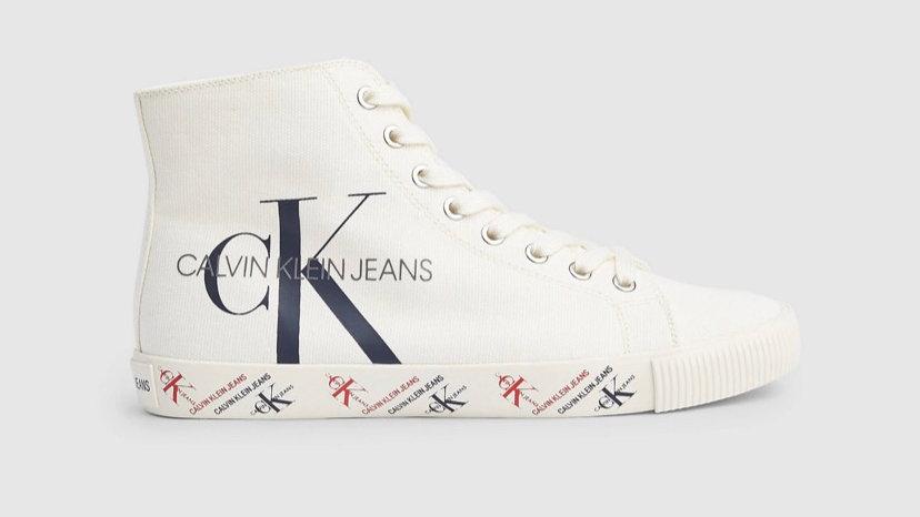 Calvin Klein - CANVAS HIGH-TOP TRAINERS