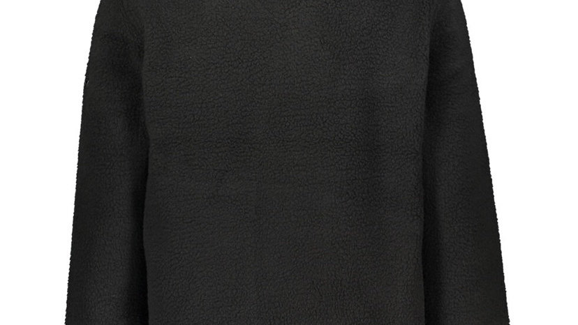 REGATTA Black/Navy Logo Fleece