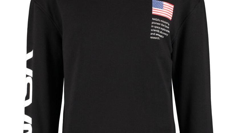 NASA Black & White Logo Sweatshirt
