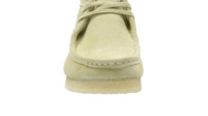 Clark's Wallabee Boot Maple Suede