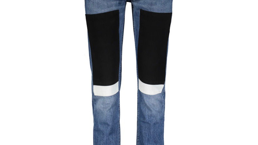 CALVIN KLEIN JEANS Blue Patch Work Skinny Jeans