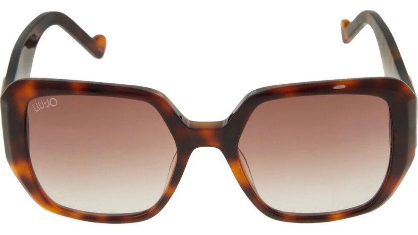 LIU-JO Tortoiseshell Square Sunglasses