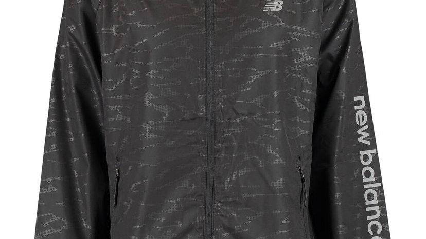 NEW BALANCE Black Windbreaker Jacket
