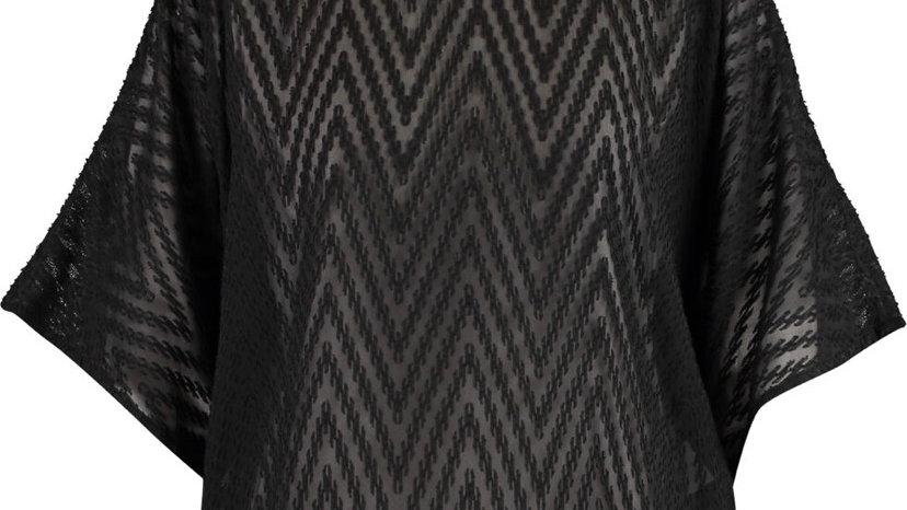 IRO Black Short Sleeve Top
