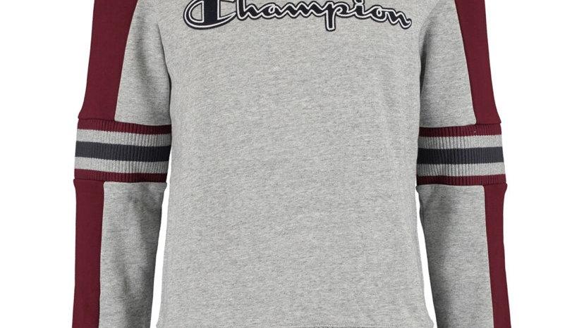 CHAMPION Grey & Burgundy Sweatshirt