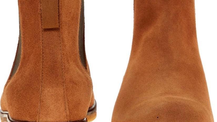 Clarks Chelsea Boots Suede Brown (UK 10.5 Men)