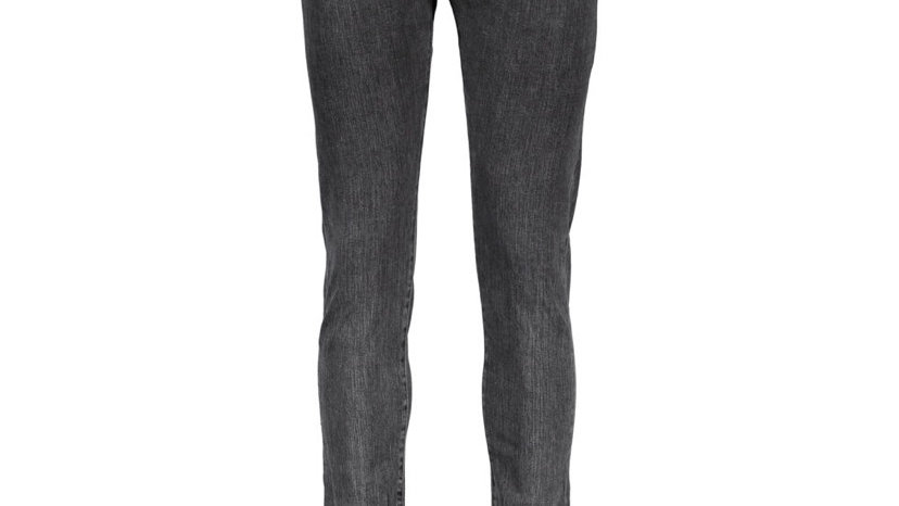 EDWIN Black Washed Slim Fit Jeans