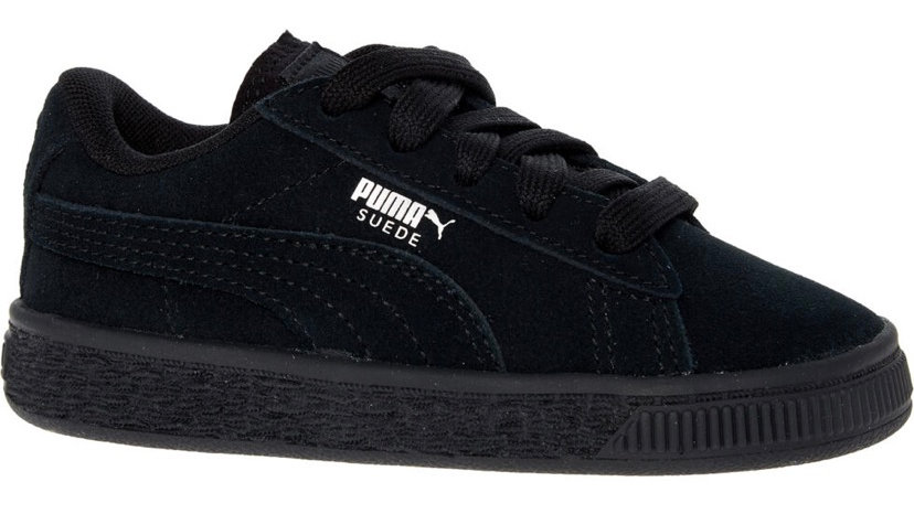 PUMA Black Suede Trainers