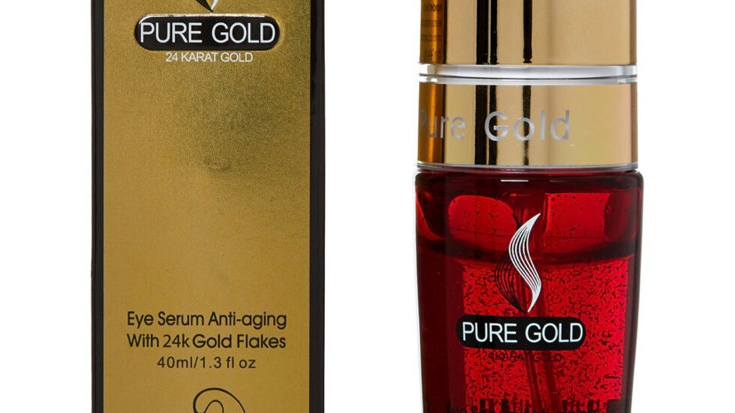 PURE GOLD Gold Flakes Eye Anti Aging Serum 40ml