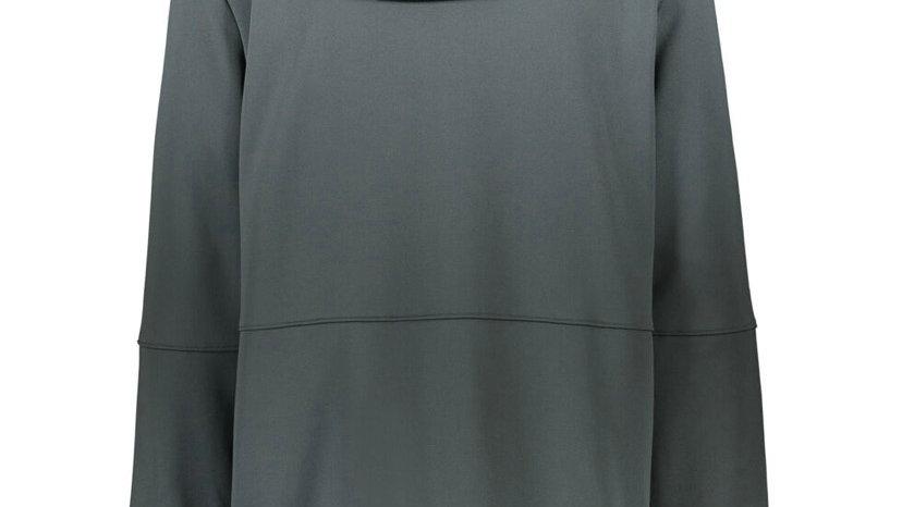 UNDER ARMOUR Metallic Grey Zip-Up Sports Hoodie