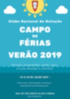Cartaz Campo Ferias verao 2019 (folha 1)
