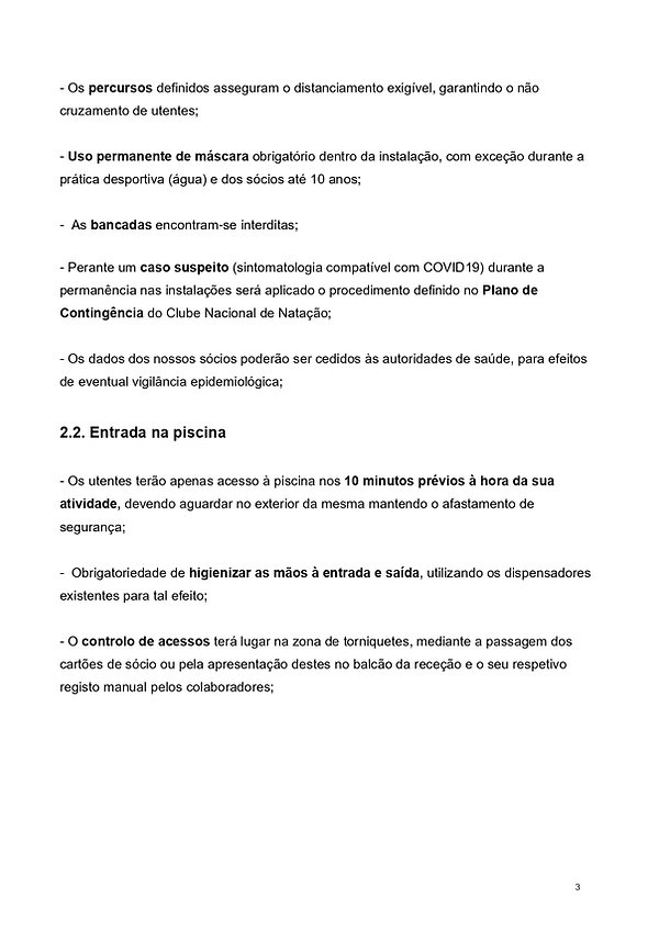 Manual de procedimentos piscina CNN Març