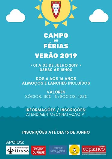 Cartaz Campo Ferias verao 2019 (folha 2)