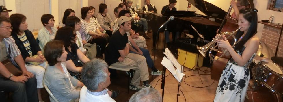 3周年記念ジャズライブ by しまなみジャズトリオ+YUKARI