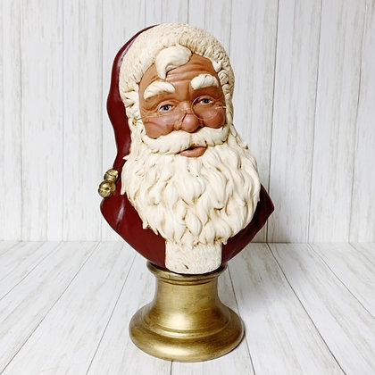 Red Santa Bust