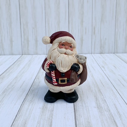 Santa with Bag and Mouse