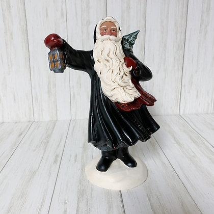 Wind-Blown Santa