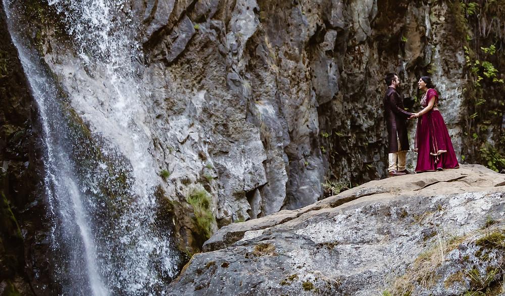 Oregon Waterfalls Elopement