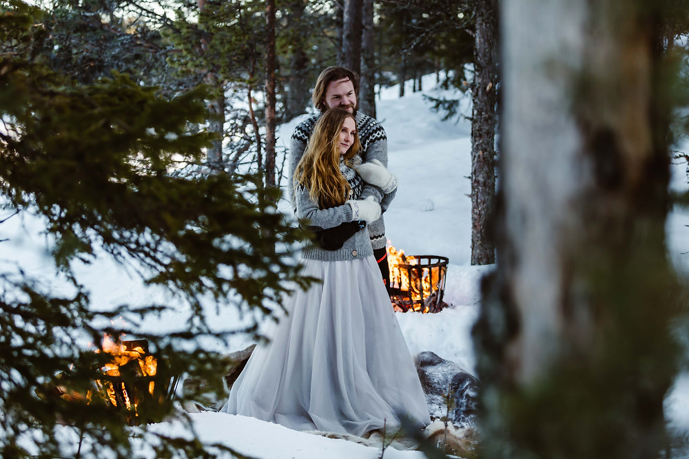 Destination Wedding in Lapland