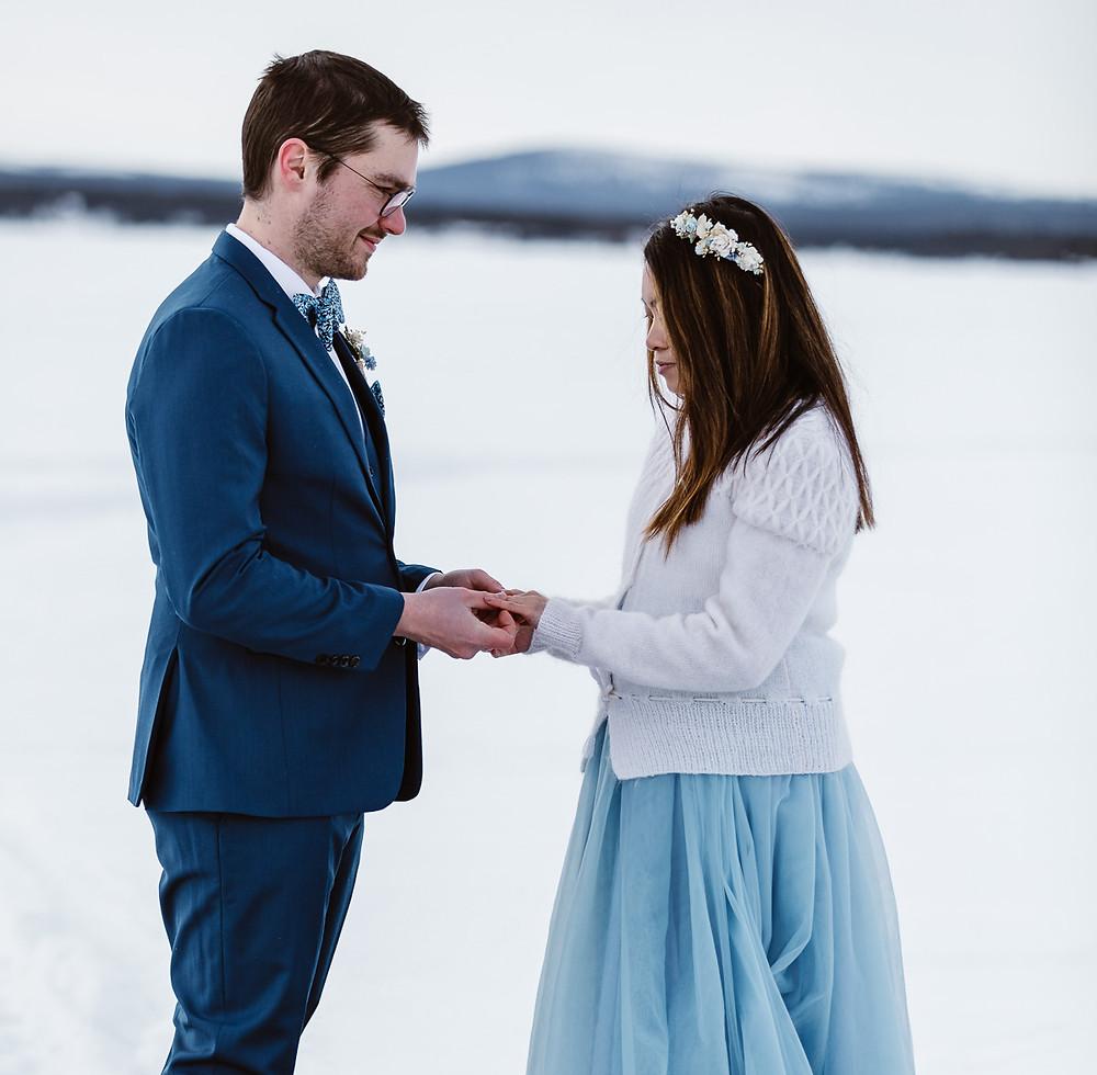 ICE Hotel Wedding, Sweden