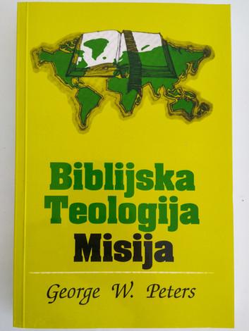 Biblijska Teologija Misija