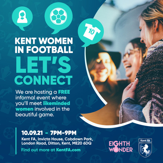 Kent Women In Football - Let Us Connect