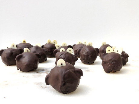 Chocolate Halloween Monster Balls