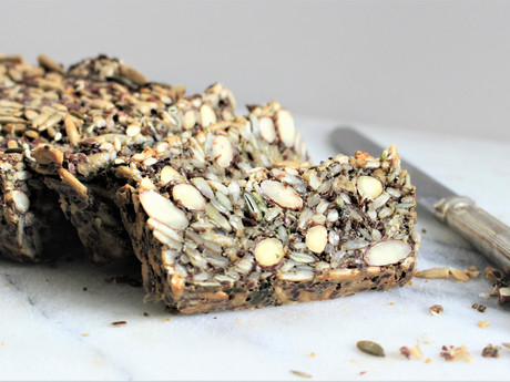 Nutty Nordic Seed Loaf
