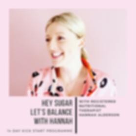 Hannah Alderson Nutritionist Berkhamsted