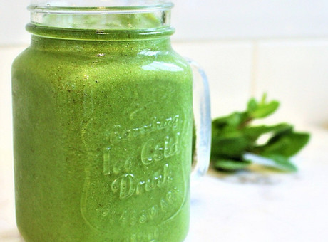 Flaxseed & Mint Smoothie