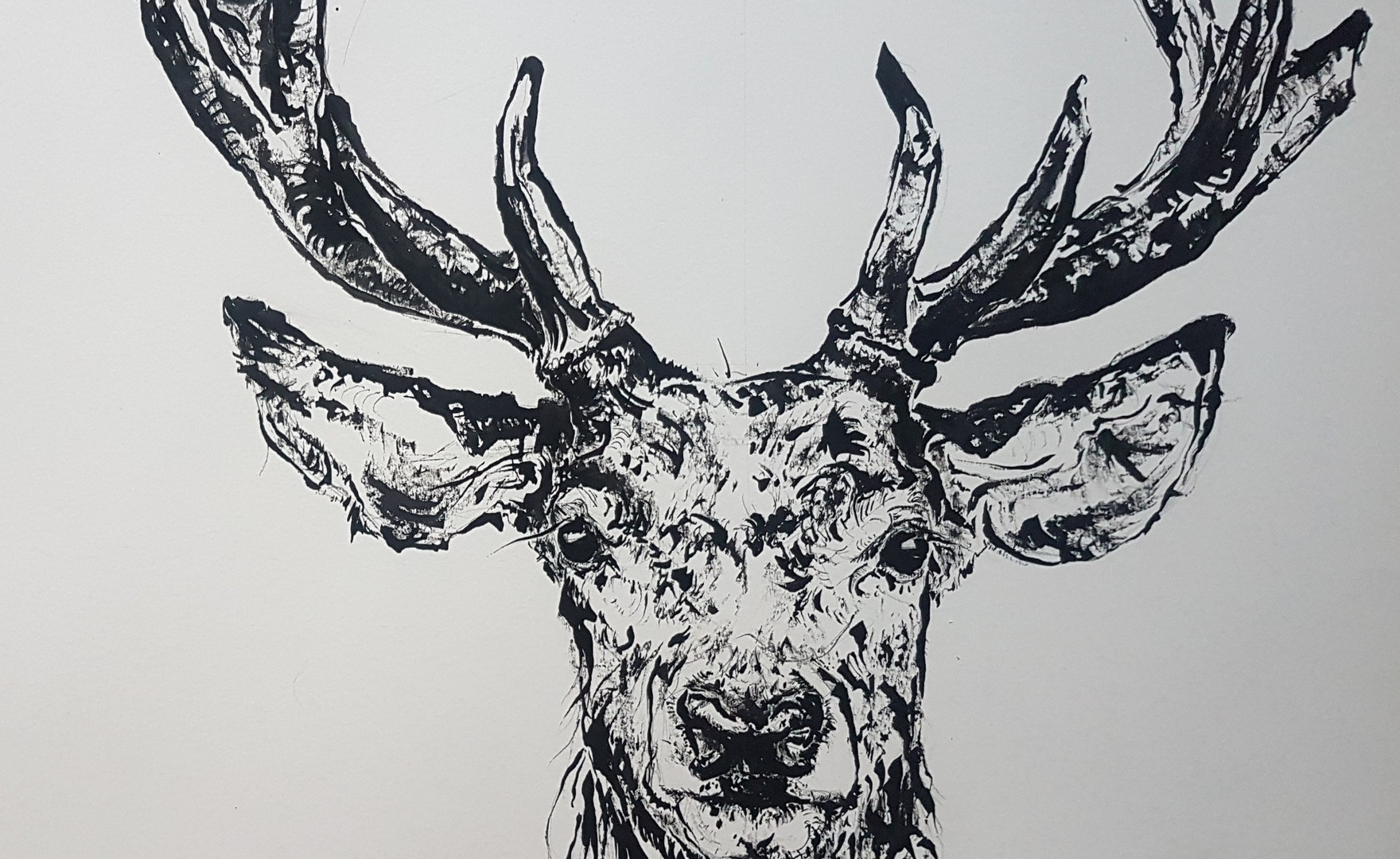 The Stag with the Broken Antler