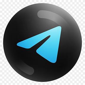 Popular-Telegram-icon-in-round-black-col