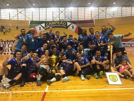 Taubaté conquista bicampeonato na Copa Paulista de Futsal