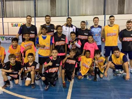 Pelo segundo ano consecutivo base do Taubaté Futsal fortalece parceria com Magnus