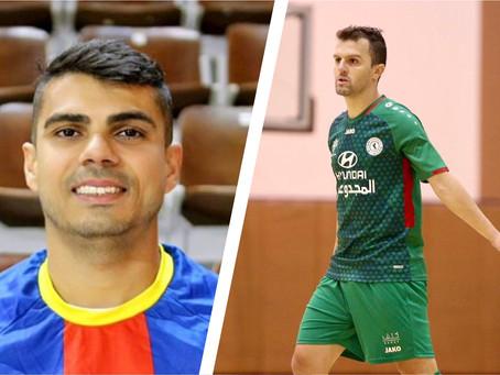 Taubaté Futsal anuncia dois reforços para disputa da Liga Paulista