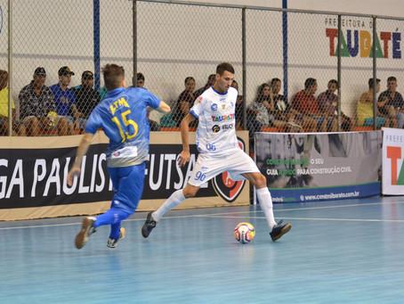 Invicto, Taubaté Futsal enfrenta Araraquara fora de casa na Copa Paulista