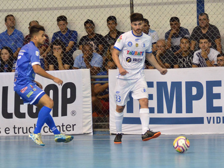 Na luta pelo tri, Taubaté Futsal encara Intelli na final da Copa Paulista