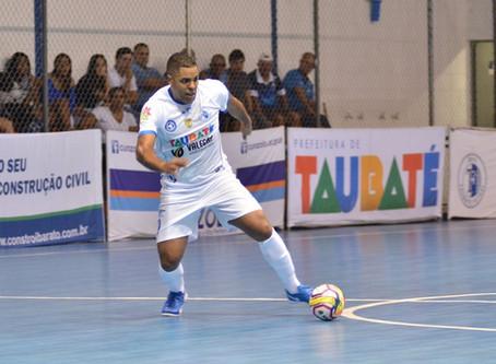 Taubaté Futsal se classifica para oitavas de final da Liga Paulista