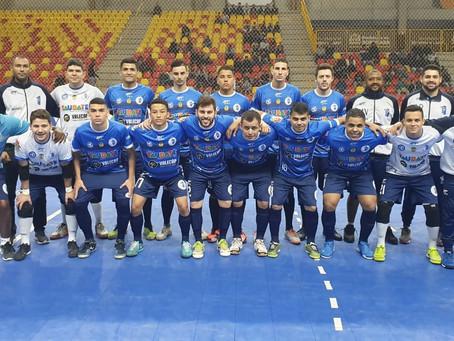 Jogando na casa do adversário, Taubaté perde na estreia da Liga Paulista de Futsal