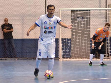 Taubaté Futsal enfrenta Mogi das Cruzes na semifinal da Copa Paulista