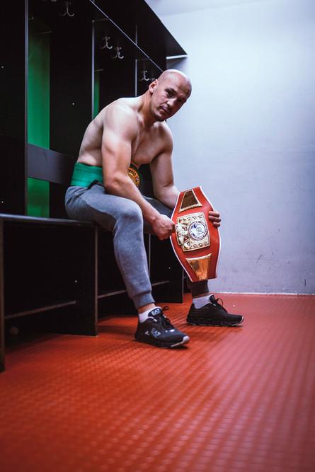 Iron Pucky Box Champ